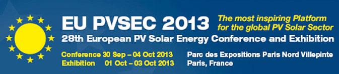 EU-PVSEC-2013-PARIS