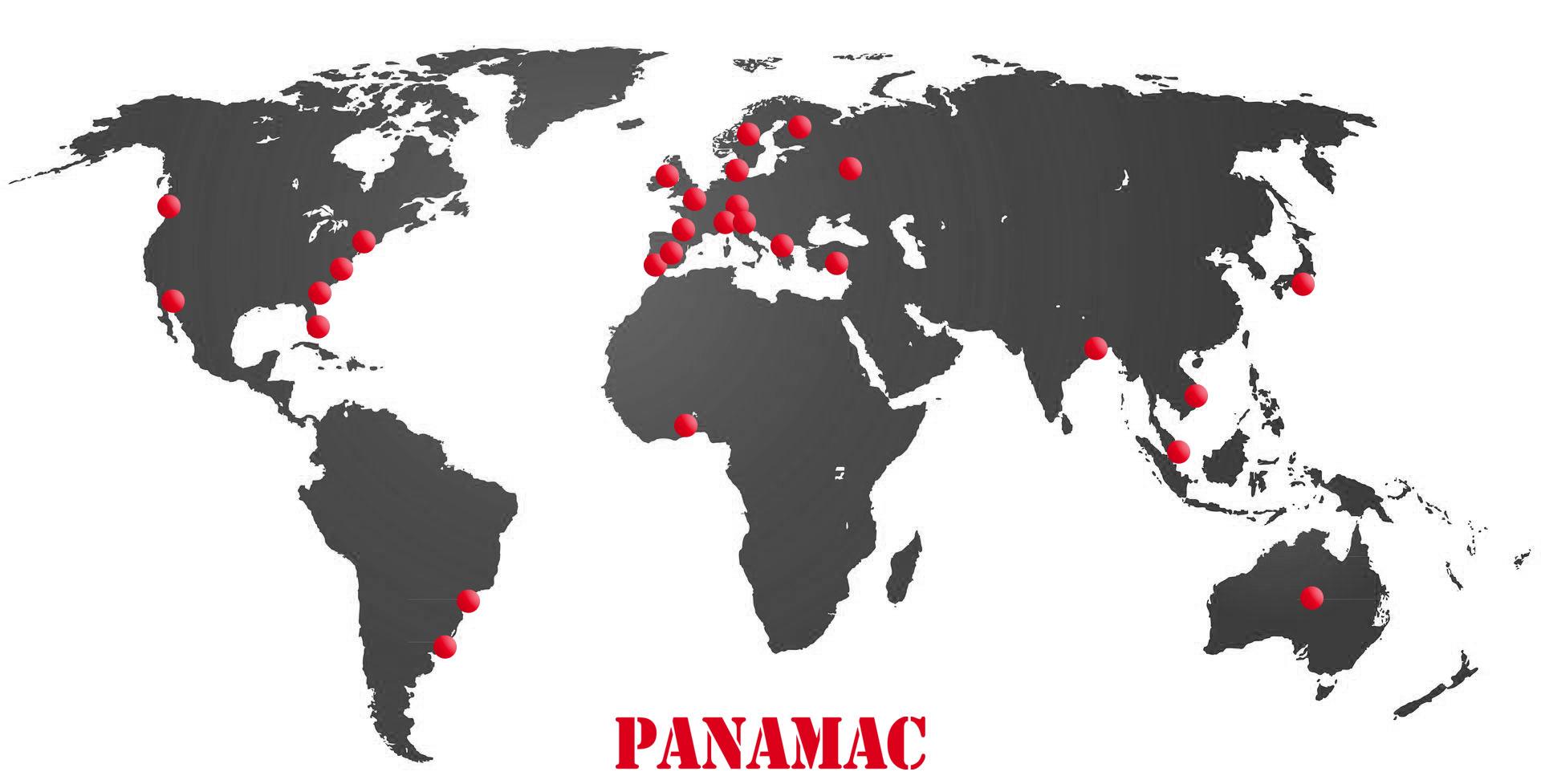 PANAMAC in the world